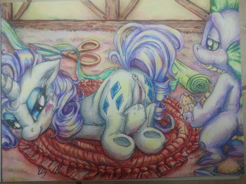 mlp fanfiction spike and rarity The amazing world of gumball penny without shell
