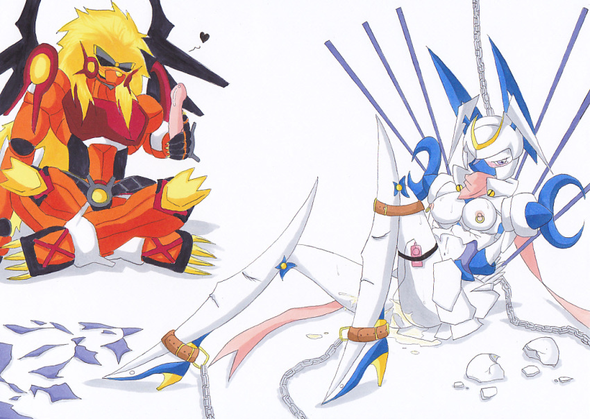 story digimon platinumnumemon sleuth cyber Let it die