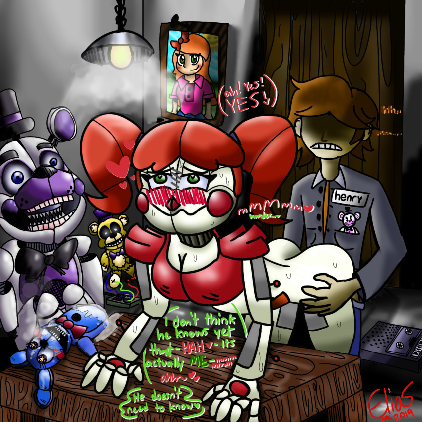 circus five at nights freddy's baby Girl foxy five nights at freddy's
