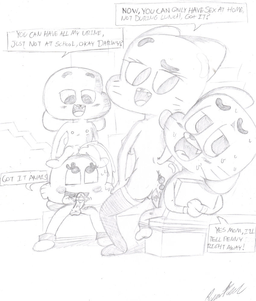 world hentai amazing nicole of gumball Living with hipstergirl and gamergirl